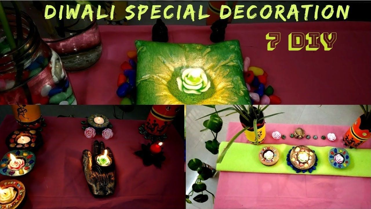 Diwalispecial Coffeetabledecor 7 Ideas To Decorate Your Coffee Table D Diwali Decorations Decorating Coffee Tables Decor