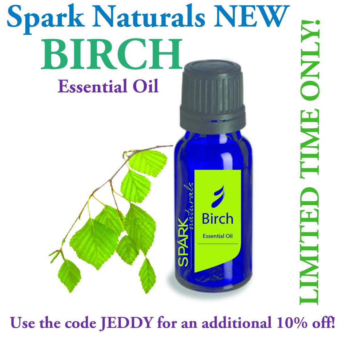 Spark Essentials Announces BIRCH Essential Oil (Canada