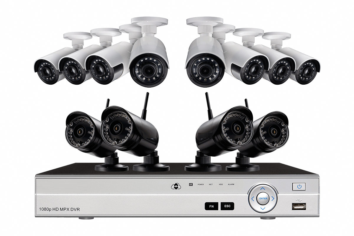 Wireless Security Camera System Ultra Wide 12 Cameras Dvr Digital S Wireless Security Camera System Security Camera Installation Wireless Home Security Systems