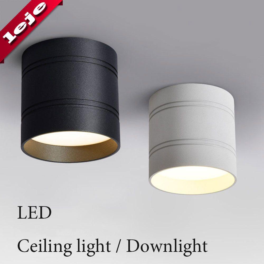 85 265vac Input 3w 5w 7w 10w 12w Led Surface Mounted Ceiling Lamp
