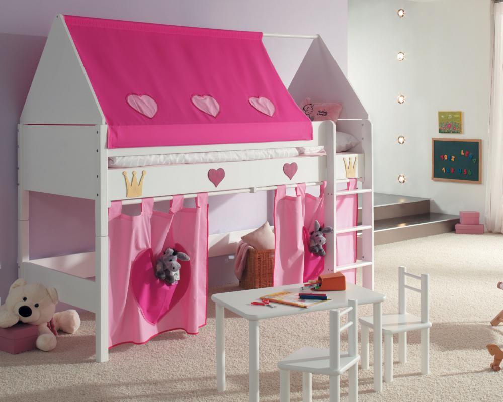 Kinderzimmer Prinzessin Hochbett Kinder zimmer