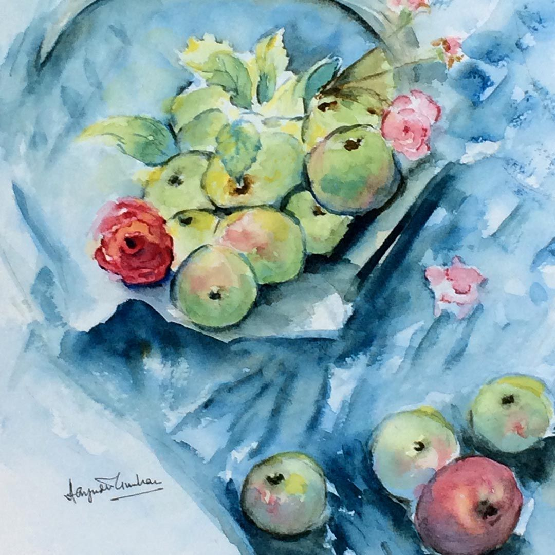 Learn Watercolour With Us Online Art Courses With The London