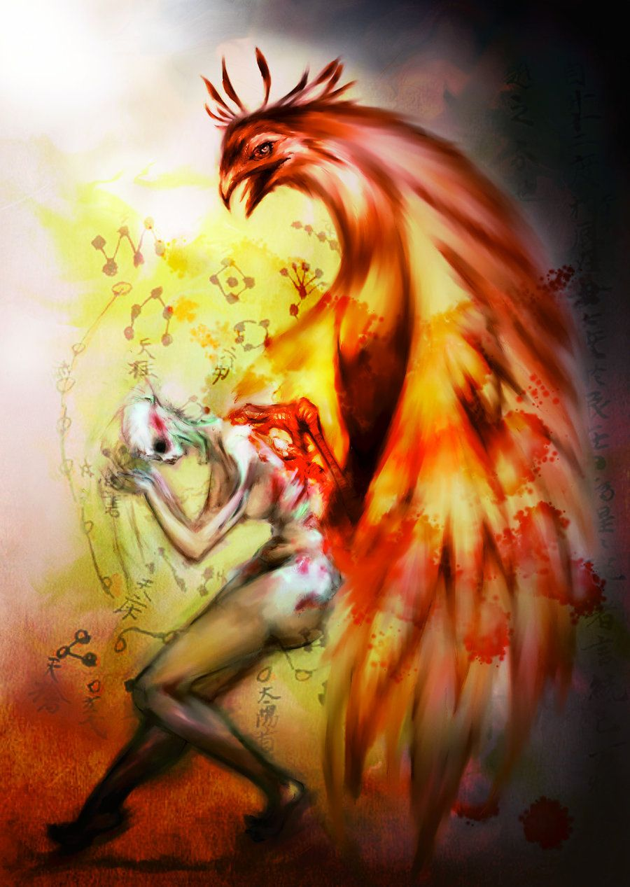 phoenix rising by Sliver-Ashes.deviantart.com on ...