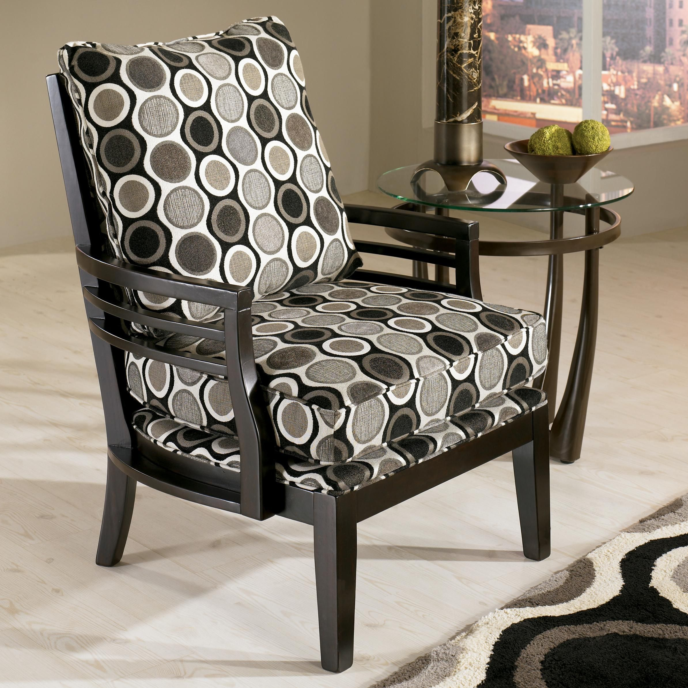 Best Kaldiscope Steel Contemporary Showood Accent Chair With 640 x 480