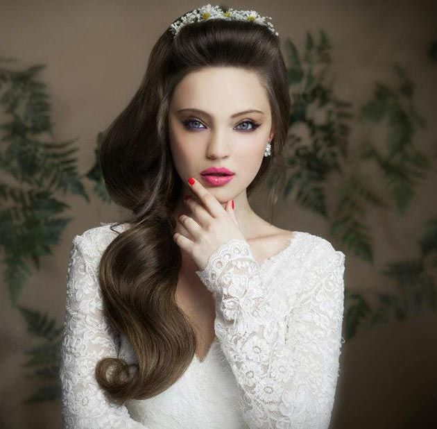 Side Hairstyles For Long Hair Wedding: Super-Cute Bridal Hairstyles Every Girl Would Love To Wear