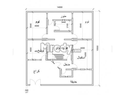 خرائط منازل عراقية 125م خرائط منازل عراقية 200 متر تصماميم منازل
