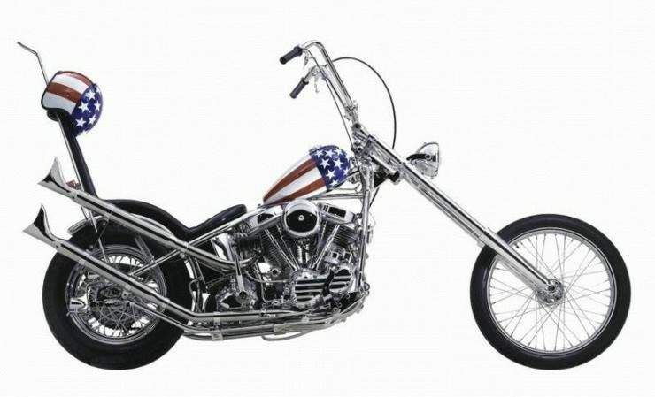easy rider captain america chopper, 1969 | harley davidson