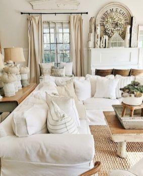 incredible farmhouse living room sofa design ideas and decor also rh pinterest