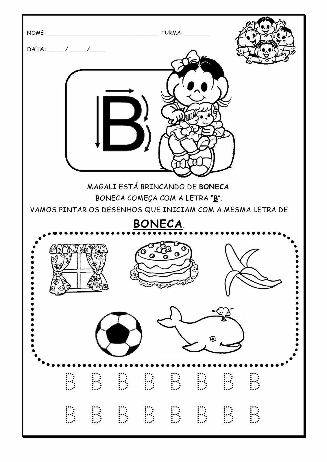 Pin De Dina Em Kindergarten Atividades Com O Alfabeto Atividade