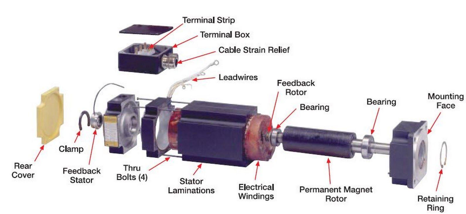 Brushless Motor Construction Electrical Engineering World Circuit