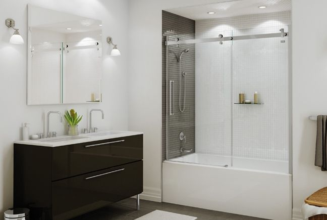 Bath tub with frameless shower door google search condo bath bath tub with frameless shower door google search planetlyrics Images