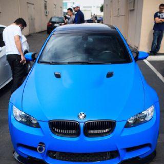 Bmw E92 M3 In Laguna Seca Blue Bmw Bmw Cars
