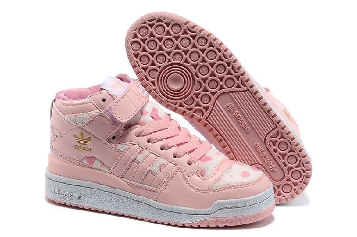 f32353275ec5b Sklep Adidas Originals Forum Różowy Beżowy DOT Obuwie z bezpiecznej ...