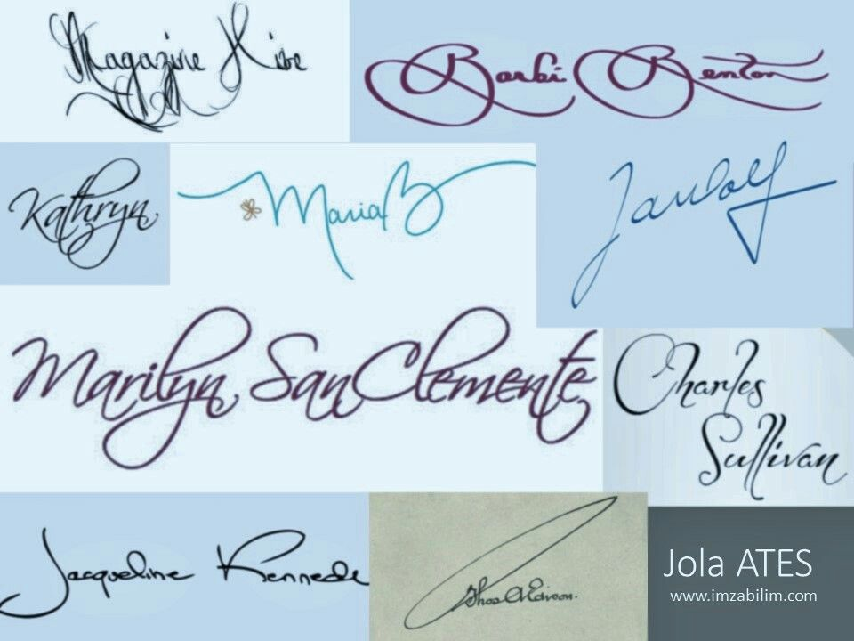beautiful signature examples signature analysis pinterest