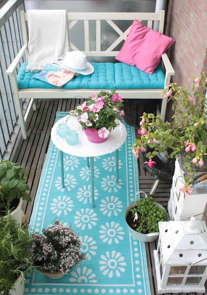 arredare il balcone | balcone | Pinterest | Balconi, Piccolo balcone ...
