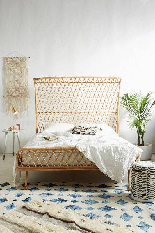 Rattan Headboard Ideas For Your Bedroom, Rattan Bedroom Furniture