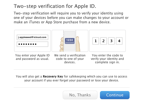 How To Enable Two Step Verification For Your Apple Id Icloud