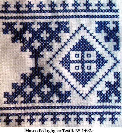 Basque Embroidery Punto De Cruz Geométrico Puntos De Bordado Punto De Cruz Celta