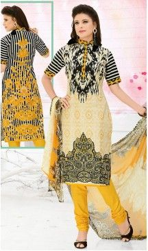 Casual Daily Wear Salwar Kameez in Beige Color Cotton Fabric | FH514378297 #casual, #salwar, #kameez, #online, #trendy, #shopping, #latest, #collections, #summer,#shalwar, #hot, #season, #suits, #cheap, #indian, #womens, #dress, #design, #fashion, #boutique, #heenastyle, #clothing, #cotton, #printed, #materials, @heenastyle