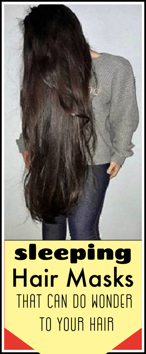 Sleeping hair mask that you must try for fast hair growth #hair