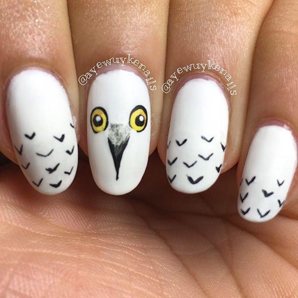 Ces ongles à leffigie de Harry Potter sont de la pure magie
