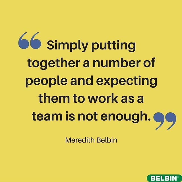 Let #belbin help your #team by providing a common language to