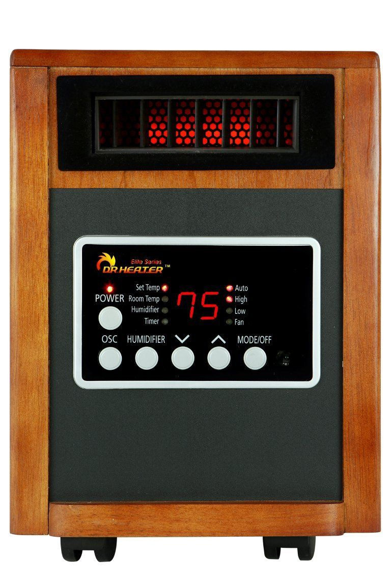 Dr Infrared Heater Dr998 1500w Advanced Dual Heating System With Humidifier And Oscillation Fan And Remote Control Infrared Heater Heating Systems Humidifier