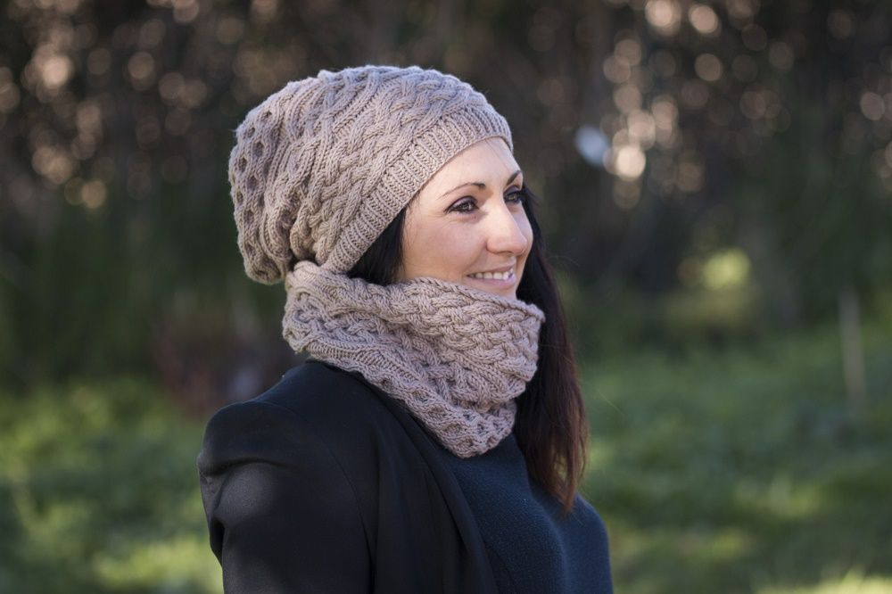 tricoter un snood et un bonnet
