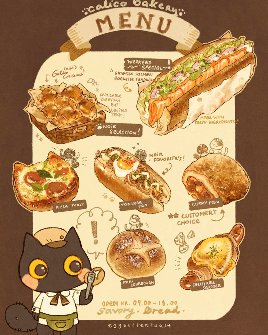 Pin By Tamarr Artis On Thực Phẩm Vẽ Aesthetic Food Food Illustrations Food Sketch