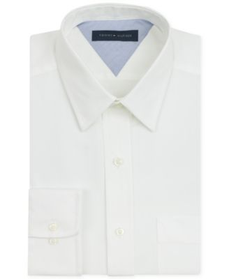 TOMMY HILFIGER Tommy Hilfiger Men'S Big &Amp; Tall Classic-Fit Non-Iron Solid Dress Shirt. #tommyhilfiger #cloth # dress shirts