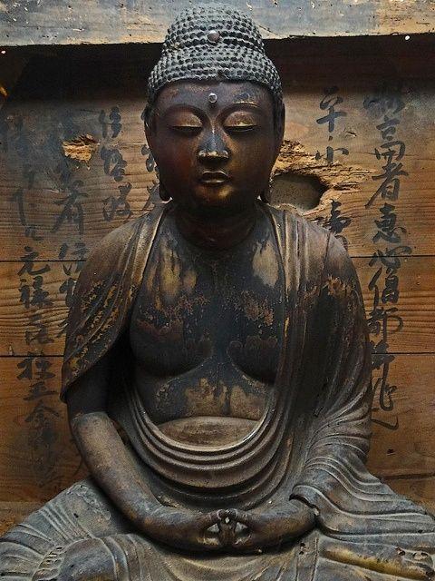 Hirado Buddha statue, property of Matsura Historical Museum in Hirado, Japan