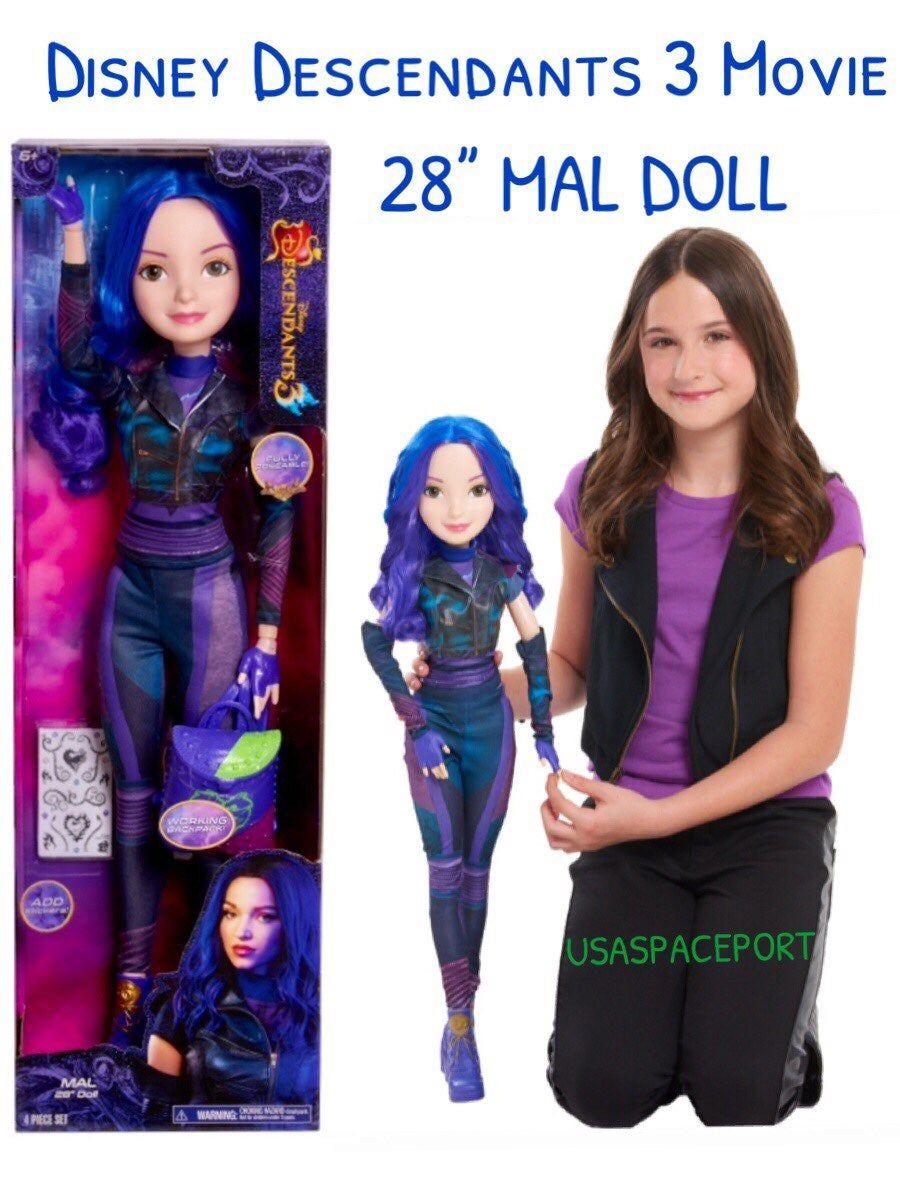 Jeux De Descendant 2 Mal Vs Uma : descendant, Disney, Descendants, Movie, Doll., Pictures, Dolls,