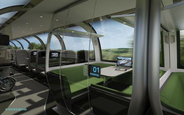 Concept For UK Bullet Train Revealed