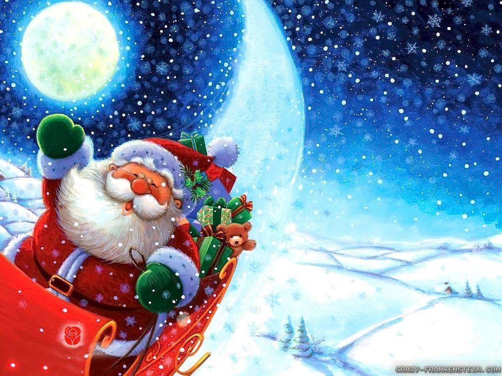 Christmas Wallpaper Victorian Christmas Santa Claus Wallpaper Santa Claus Pictures Funny Christmas Wallpaper