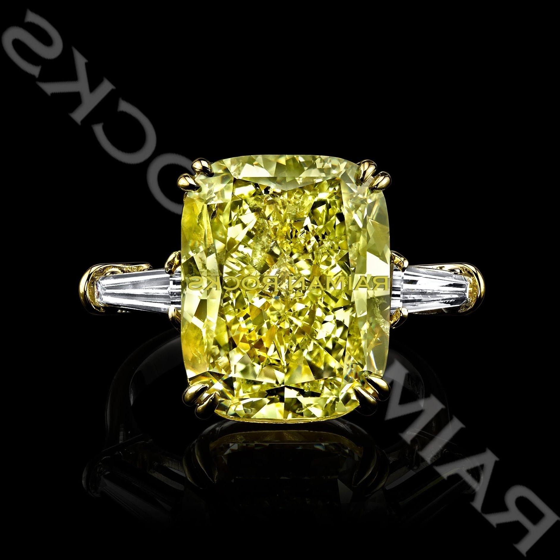 yellow of new rings canary gold diamond engagement