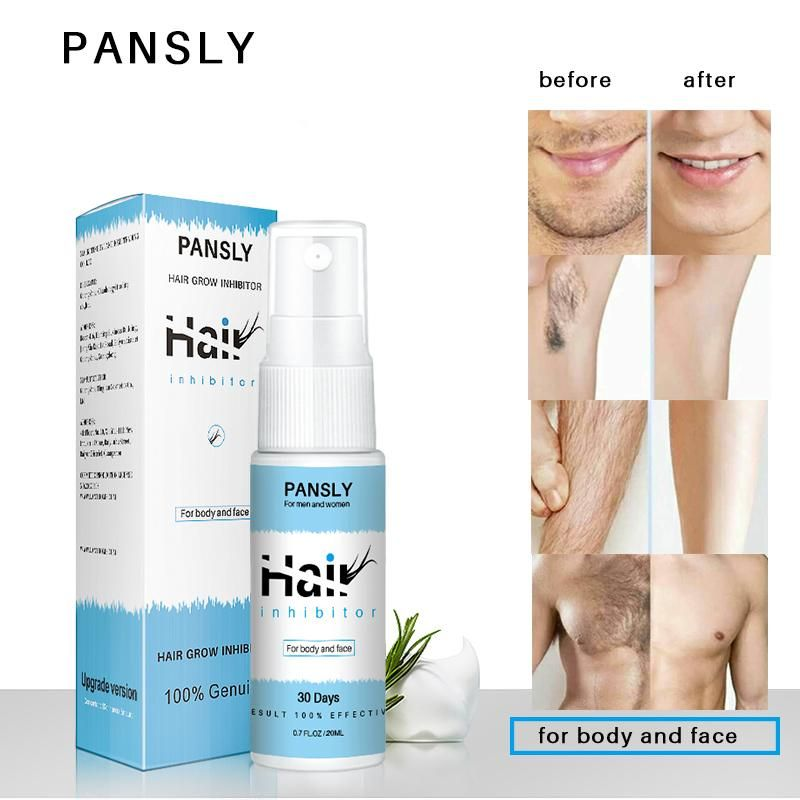 Pansly Painless Hair Growth Removal Inhibitor Serum Oil Spray