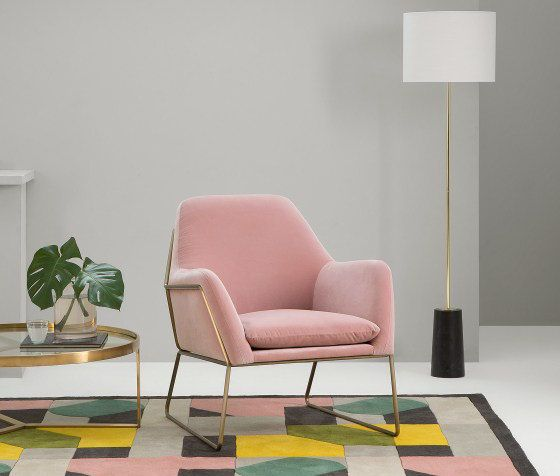 The Frame velvet armchair - my new interiors crush | Armchairs and ...