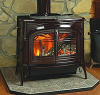 Vermont Castings Encore Flexburn Wood Burning Stove From