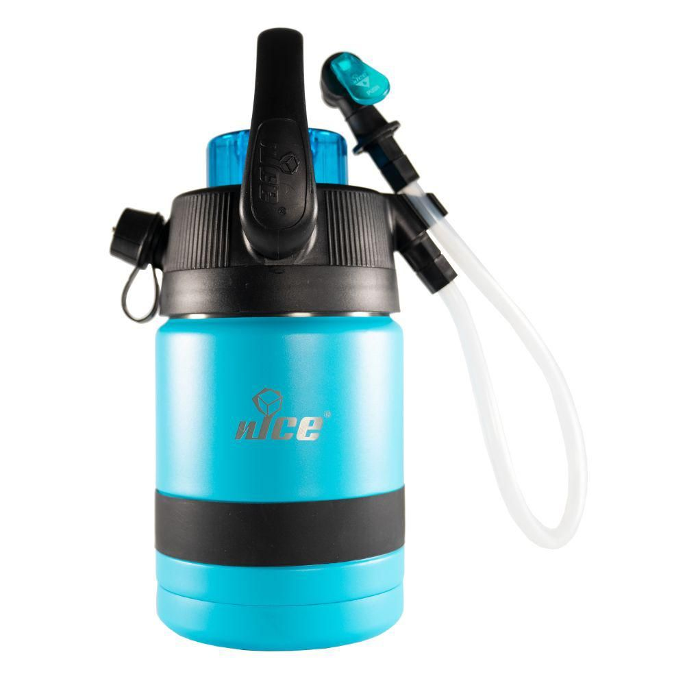 Nice Pump2pour 1 2 Gal Blue Insulated Jug With Hose And Spout 90006283 Types Of Insulation Ppg Paint Blue