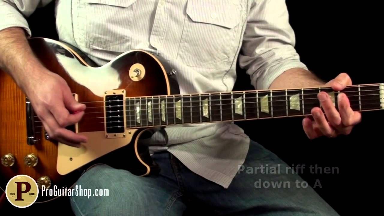 Aerosmith Walk This Way Guitar Lesson Guitar Chords And Sheet