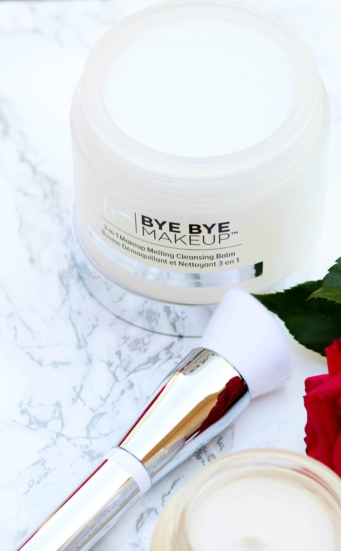 It Cosmetics Bye Bye Makeup cleansing balm is my new