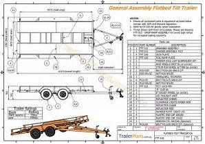 image result for tilt trailer plans blueprints trailer. Black Bedroom Furniture Sets. Home Design Ideas