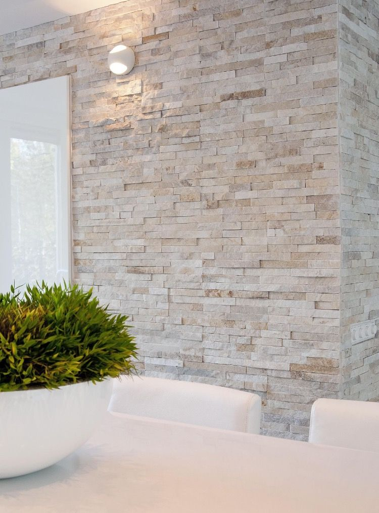 Stacked Stone Is Beautiful Stone Walls Interior Stone Wall