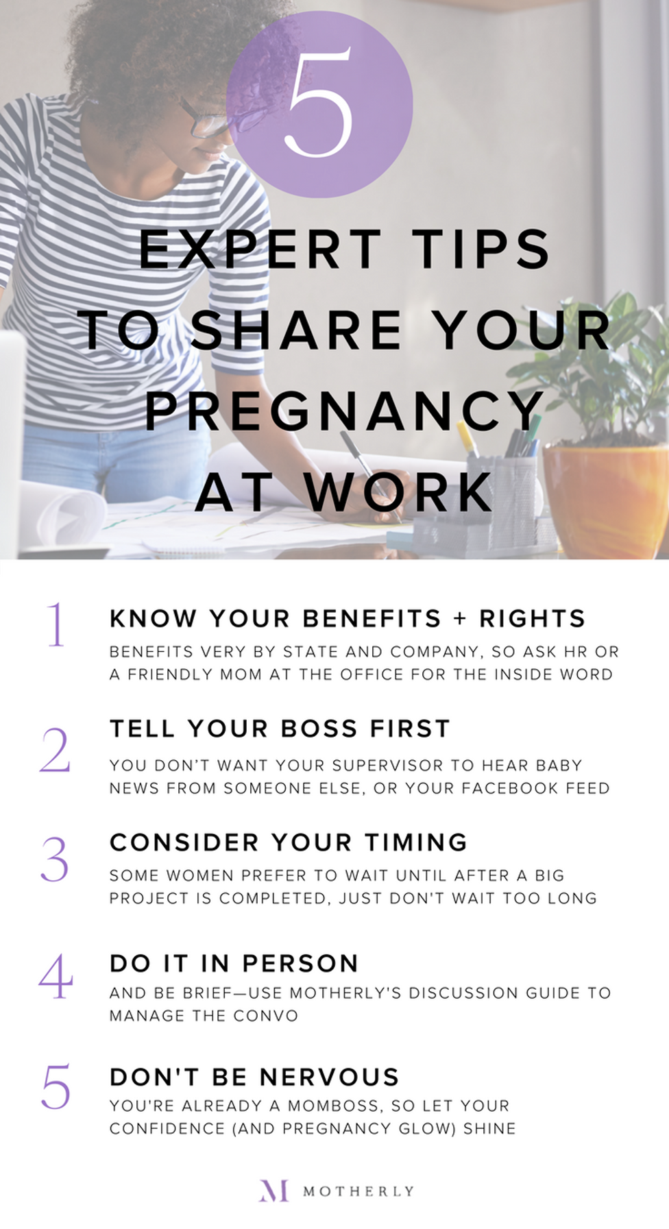 when should i tell my boss i am pregnant