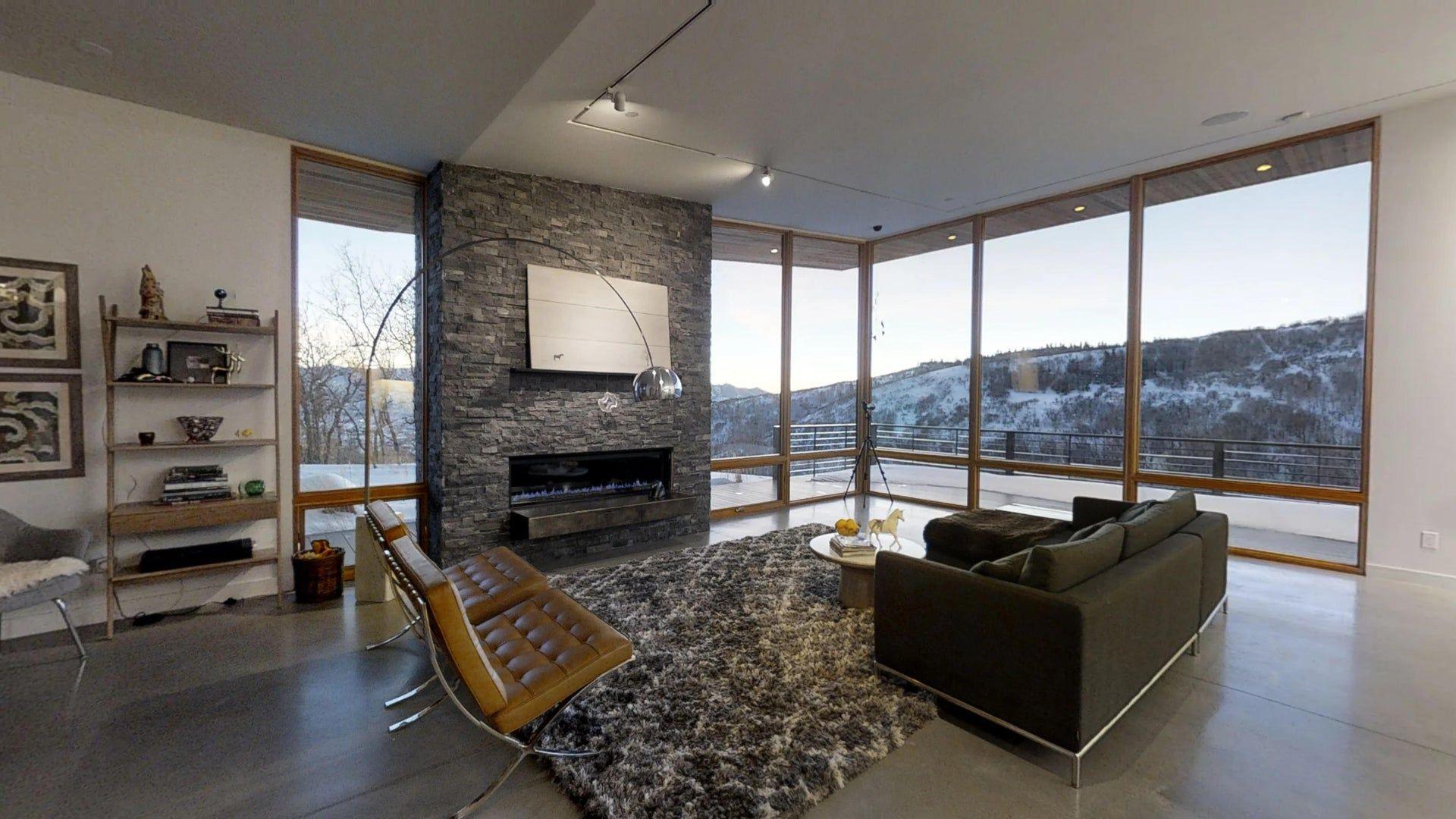 Matterport 3d Showcase House Modern Glam Living Room Big Houses