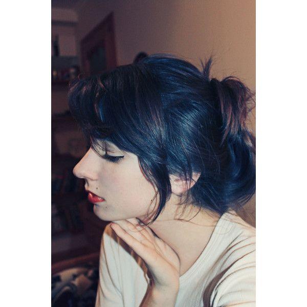 I Want My Black Blue Hair Back So Bad I Wish Garnier Still Had