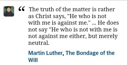 Christian quote - Martin Luther