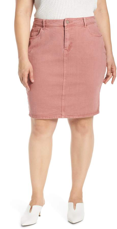 fbf9c2d67 Lost Ink Pencil Skirt | Products in 2019 | Skirts, Pencil, Plus size ...