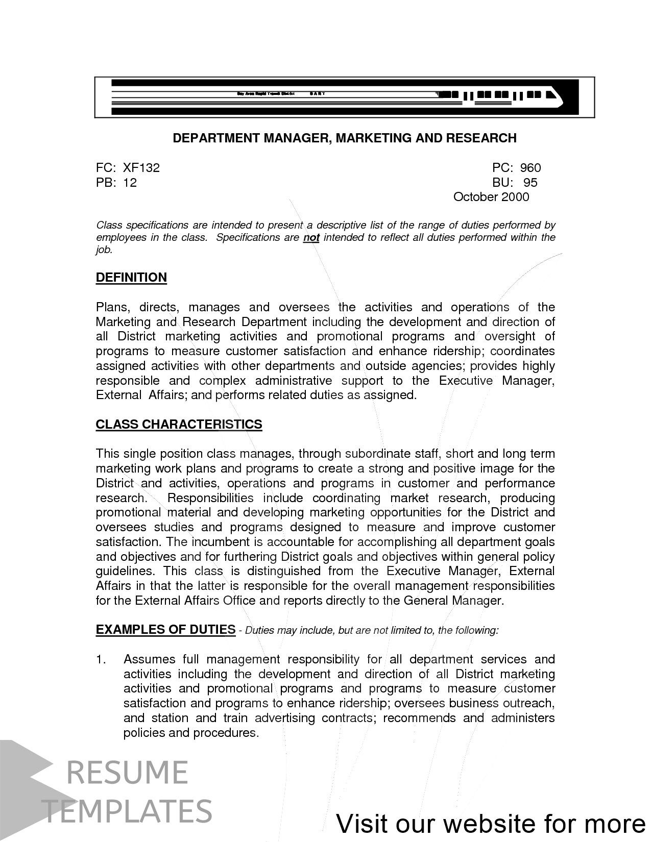 resume template free layout in 2020 General objective