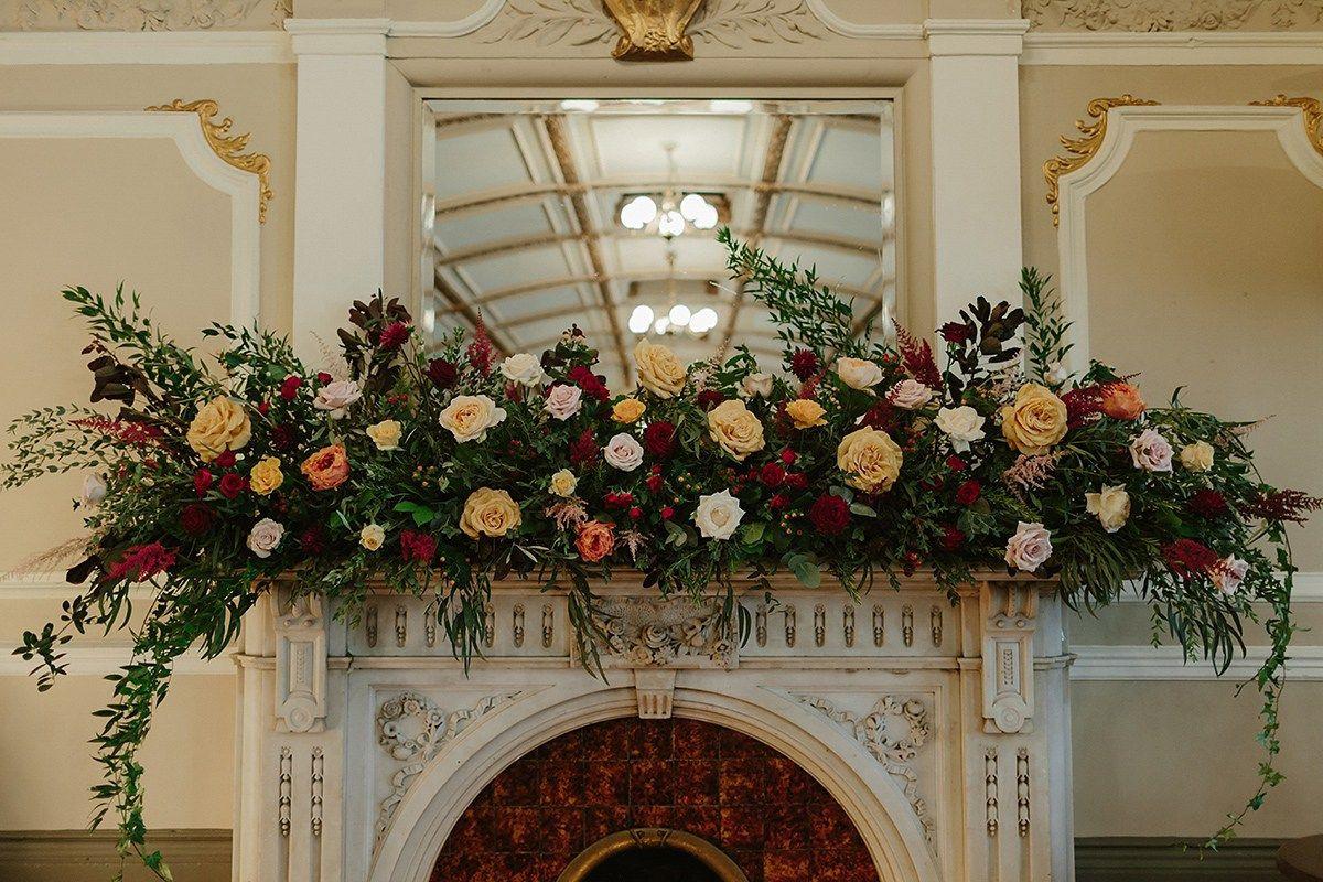 A Florist\'s Golden, Autumnal, Flower-Filled City Pub Wedding   Pub ...